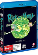 RICK &  MORTY: SEASONS 1 -3 BLURAY