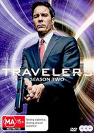 TRAVELERS: SEASON 2 DVD