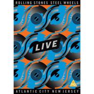 THE ROLLING STONES - STEEL WHEELS LIVE * DVD
