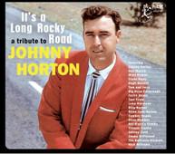 TRIBUTE TO JOHNNY HORTON: IT'S A LONG ROCKY / VAR CD