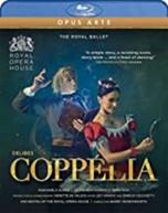 DELIBES /  WORDSWORTH / ROYAL BALLET - COPPELIA BLURAY