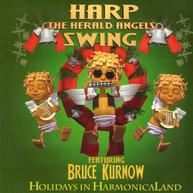 BRUCE KURNOW - HARP THE HERALD ANGELS SWING CD