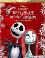 NIGHTMARE BEFORE CHRISTMAS BLURAY