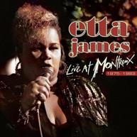 ETTA JAMES - LIVE AT MONTREUX 1975-1993 - VINYL