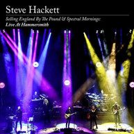 STEVE HACKETT - SELLING ENGLAND BY THE POUND & SPECTRAL MORNINGS CD