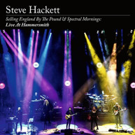 STEVE HACKETT - SELLING ENGLAND BY THE POUND & SPECTRAL MORNINGS (2CD/DVD/BD) CD