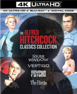 ALFRED HITCHCOCK CLASSICS COLLECTION 4K BLURAY