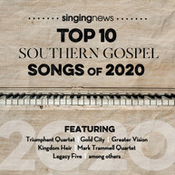 SINGING NEWS TOP 10 SOUTHEM GOSPEL SONGS 2020 / VA CD