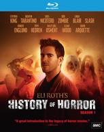 ELI ROTH'S HISTORY OF HORROR: SEASON 1 BLURAY