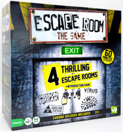 ESCAPE ROOM THE GAME - 4 ROOMS PLUS CHRONO DECODER NEW GAME