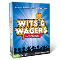 WITS & WAGERS: FAMILY EDITION NEW GAME