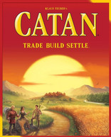 CATAN TRADE BUILD SETTLE NEW GAME