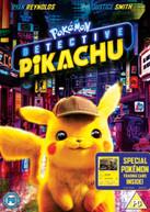 DETECTIVE PIKACHU DVD [UK] DVD