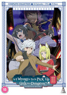 IS IT WRONG TO PICK UP GIRLS IN A DUNGEON SEASON 2 DVD [UK] DVD