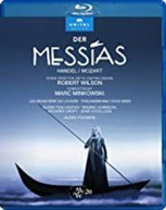 HANDEL /  PHILHARMONIA CHOR WIEN / MINKOWSKI - DER MESSIAS BLURAY