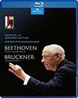 BRUCKNER /  HAITINK / WIENER PHILHARMONIKER - PIANO CONCERTO 4 BLURAY