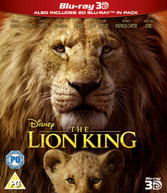 THE LION KING (LIVE ACTION) 3D BLU-RAY [UK] BLURAY