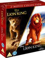 THE LION KING (LIVE ACTION) / THE LION KING (ANIMATION) BLU-RAY [UK] BLURAY