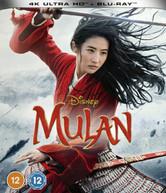 MULAN (2020) 4K ULTRA HD + BLU-RAY [UK] 4K BLURAY