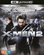 X-MEN 2 4K ULTRA HD + BLU-RAY [UK] 4K BLURAY