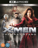 X-MEN 3 - THE LAST STAND 4K ULTRA HD + BLU-RAY [UK] 4K BLURAY