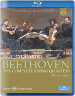 BEETHOVEN /  BELCEA QUARTET - BEETHOVEN: THE COMPLETE STRING BLURAY