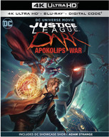 JUSTICE LEAGUE DARK: APOKOLIPS WAR 4K BLURAY