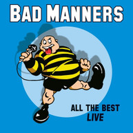 BAD MANNERS - ALL THE BEST LIVE VINYL