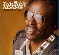 JOHNNY ADAMS - BEST OF JOHNNY ADAMS - NEW ORLEANS TAN CANARY VINYL