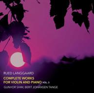 LANGGAARD /  SIHM / TANGE - COMPLETE WORKS FOR VIOLIN 3 VINYL