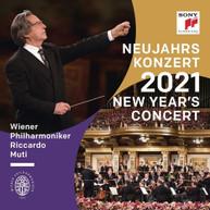 RICCARDO MUTI /  VIENNA PHILHARMONIC - NEW YEAR'S CONCERT 2021 VINYL