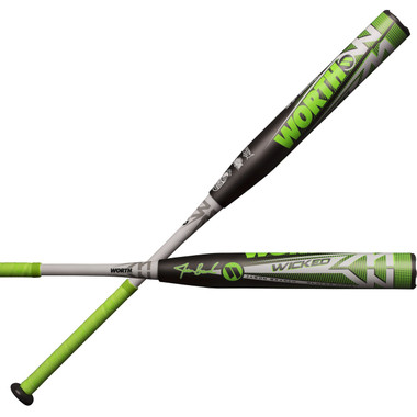 Shaved slow pitch bats