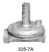 Maxitrol Gas Pressure Regulator 325-7A-1-1/2-12A49