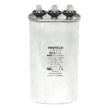 Rheem 43-25135-20 40/3Mfd 440V Oval Run Capacitor