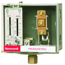 Honeywell L404F1409 Pressuretrol,2-15#,Open Lo, Snap