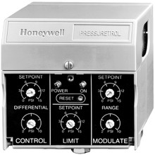 Honeywell P7810D1016 0-150# Press Sw On/Off & Hilim