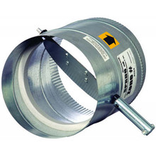 "Honeywell SPRD-16 16"" Round,Static Press. Damper"