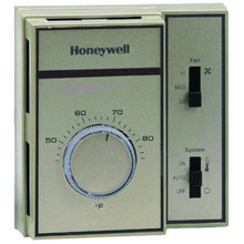 Honeywell T6069D4014 Fan Coil Thermostat Cyclor constant Fan