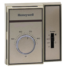 Honeywell T6169A4001 Fan Coil Thermostat 120/277V7-28C2Pipe