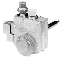 """Robertshaw 110-262 Water Heater Valve 1/2"""" 160F 1 3/8"""" Shank"""