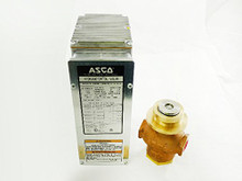 "ASCO H0V1B307T171 3/4"" 120V With Poc & Auxilliary Switch"