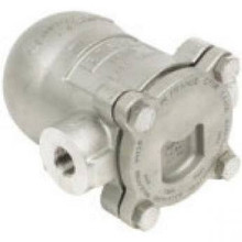 "Spirax-Sarco 66672 Float & Thermostatic Steam Trap,125 3/4""Npt, Cast Iron, Straight"
