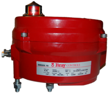 Bray Commercial 70-0200-113A3-536 2000 inlb 24V Act Nema4