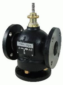 "Schneider Electric (Viconics) VB-9223-0-5-14 4"" Cast Iron Flanged Mixing Valve, Suc, 145Cv"