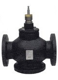 "Siemens Building Technology 599-06165 2.5"" Mix Valve, 63Cv, Flanged, Stainless Steal Trim"