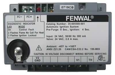 Fenwal Ignition Module Part #35-605500-001 on