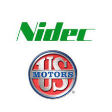 "Nidec/US Motors 1880 1/4HP 825RPM 460V 5.6""DIA"