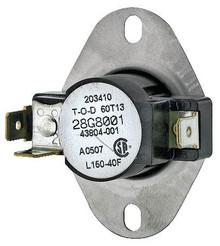 Lennox 79J89 140-170F Auto Limit Switch