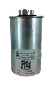 Lennox 89M83 45/10MFD 440V Rnd Run Capacitor