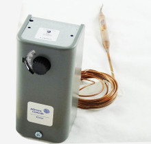 Johnson Controls A19ABC-4 50/130F Spdt 8'Cap Adj. Dif.